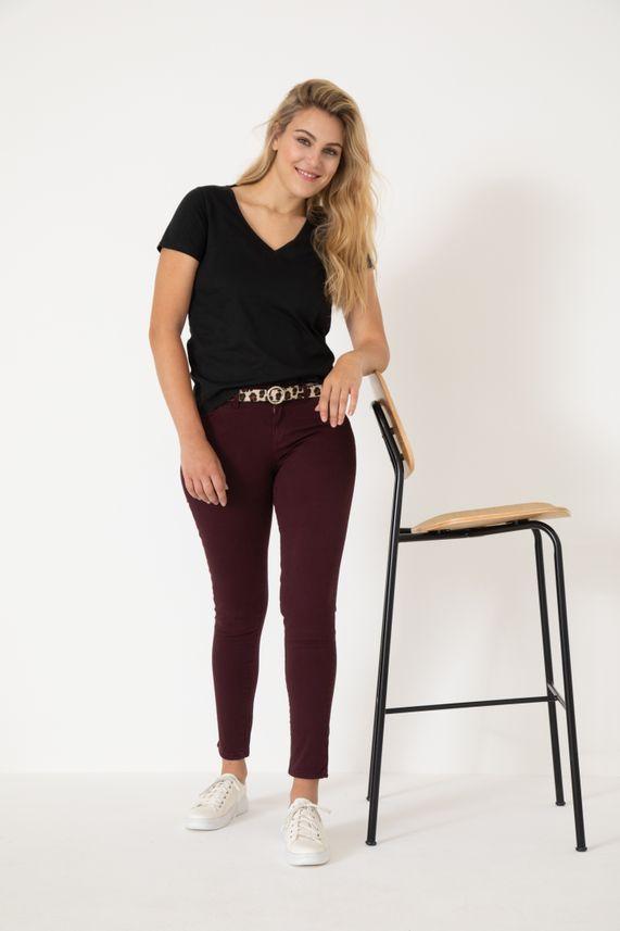 Pantalon Skinny Emma Gabardina Color